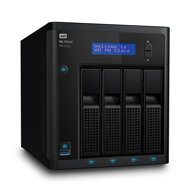 Ổ lưu trữ mạng Western Digital My Cloud PR4100 (chưa có ổ cứng)
