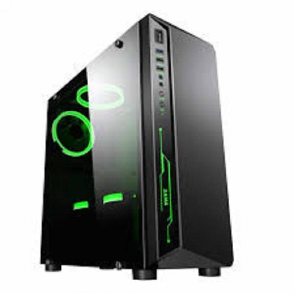 Vỏ máy tính Sama CANTY III Black Fan RGB  (ATX, MicroATX, Mini-ITX)