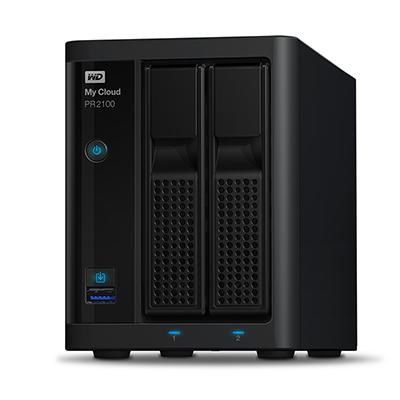 Ổ lưu trữ mạng Western Digital My Cloud PR2100 (chưa có ổ cứng)