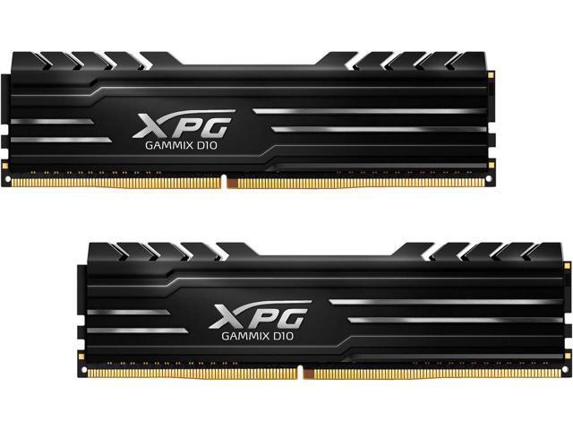 RAM Adata 32Gb (2x16Gb) DDR4-2400 - XPG GAMMIX D10 (AX4U2400316G16-DBG)