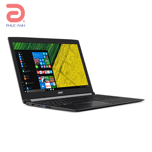 Laptop Acer Aspire A515-51G-52ZS NX.GP5SV.004 (Black)- Thiết kế đẹp, mỏng nhẹ hơn.