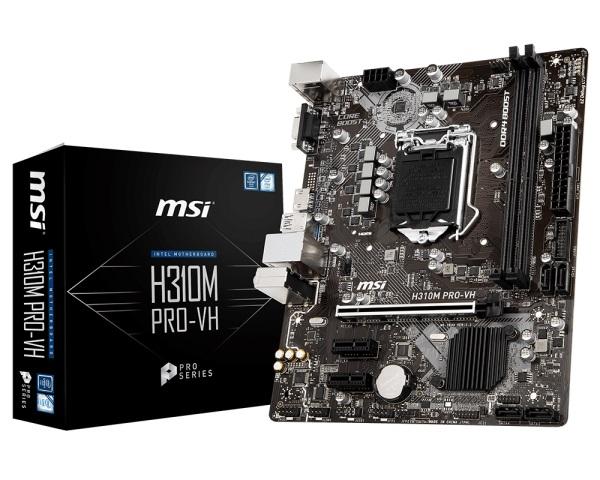 Main MSI H310M PRO-VH (Chipset Intel H310/ Socket LGA1151/ VGA onboard)