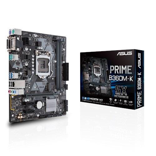 Main Asus B360M-K (Chipset Intel B360/ Socket LGA1151/ VGA onboard)