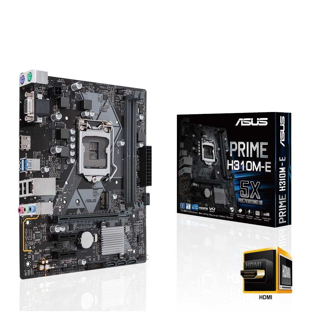 Main Asus H310M-E (Chipset Intel H310/ Socket LGA1151/ VGA onboard)