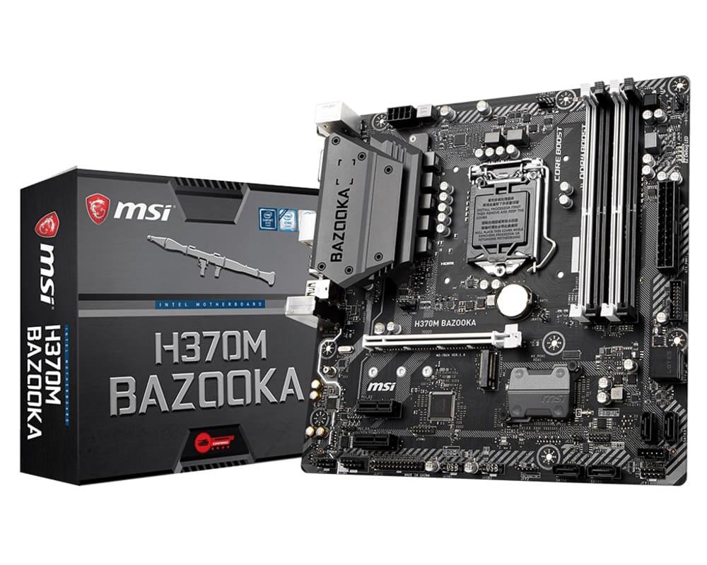 Main MSI H370M BAZOOKA (Chipset Intel H370/ Socket LGA1151/ VGA onboard)