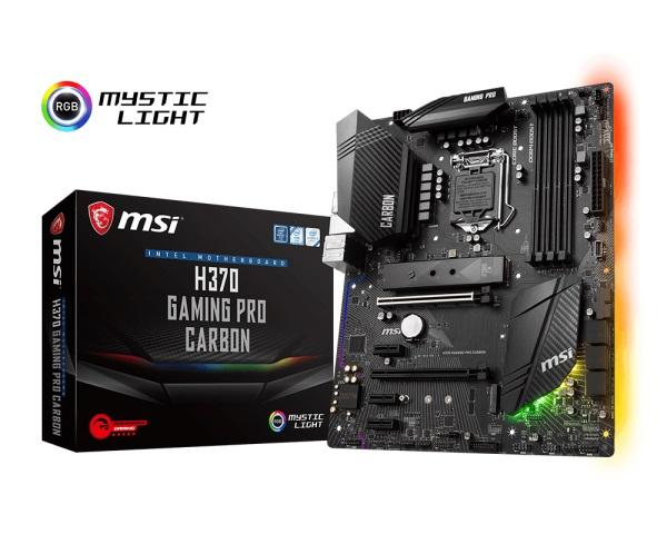 Main MSI H370M GAMING PRO CARBON (Chipset Intel H370/ Socket LGA1151/ VGA onboard)