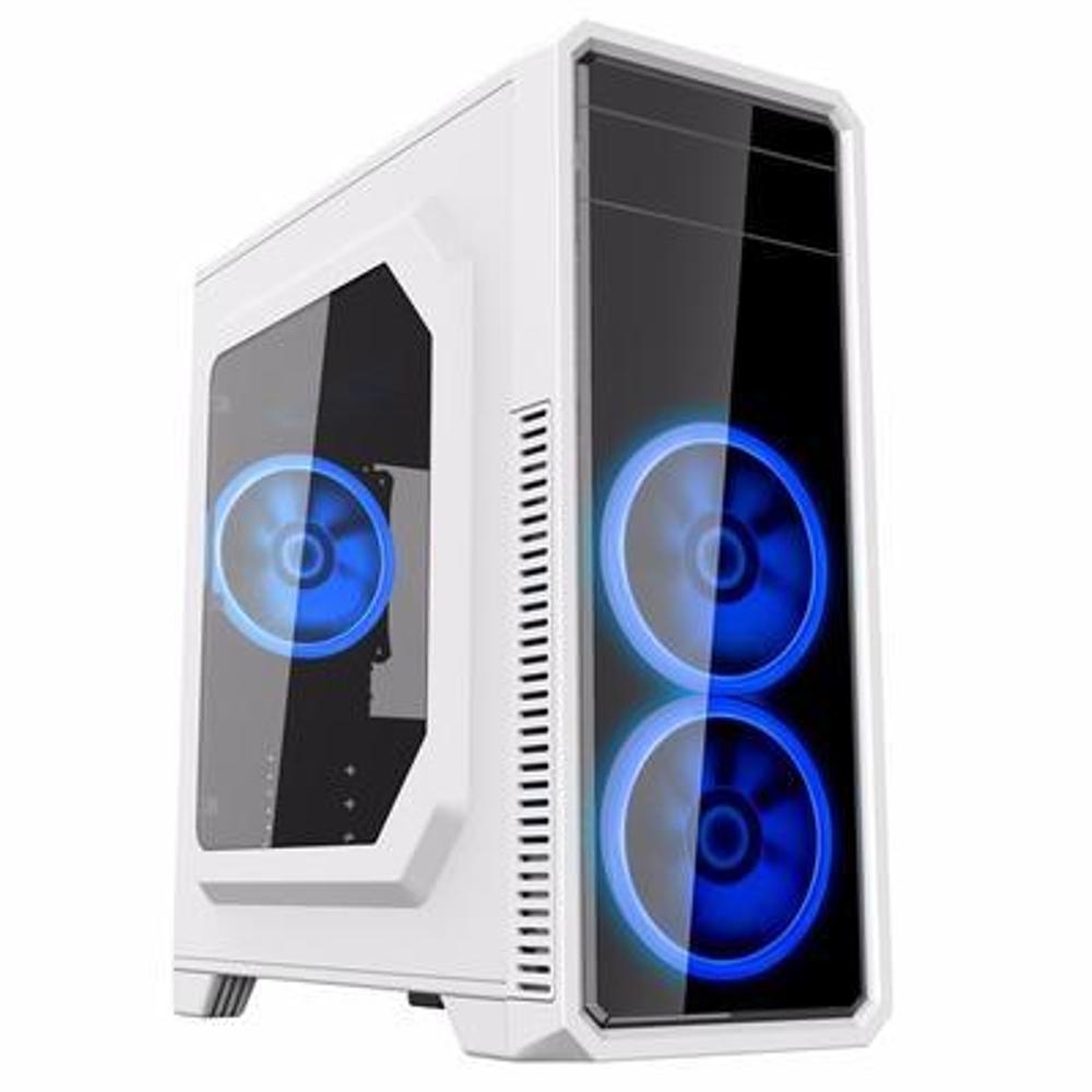 Vỏ máy tính GAMEMAX G561 - Trắng (ATX, MicroATX, Mini-ITX C20)
