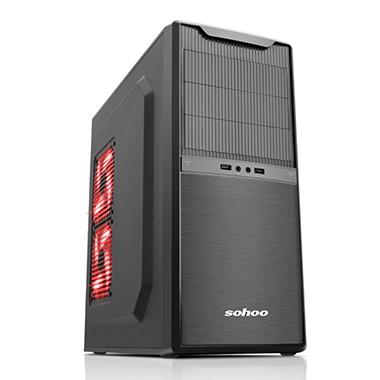 Vỏ máy tính Sohoo 5901BK  (M-ATX, ATX)