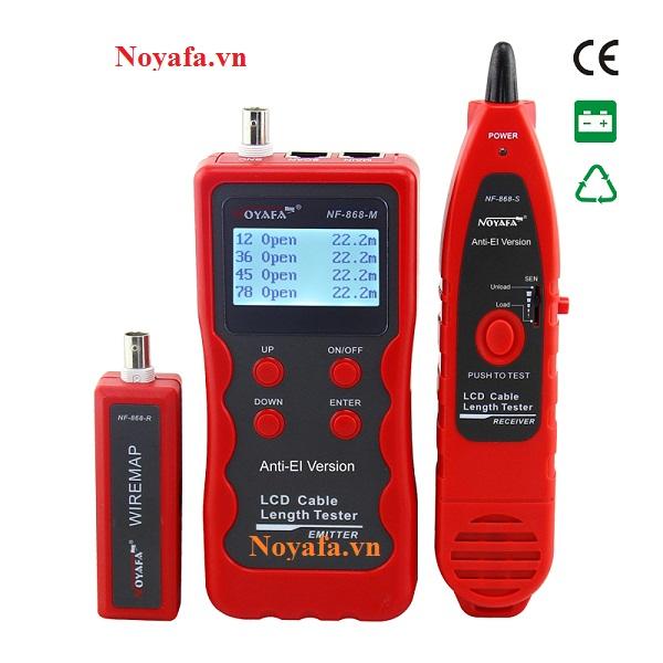 Bộ máy test mạng Noyafa NF-868R