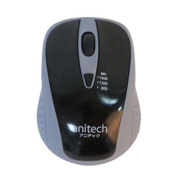 Chuột quang không dây Anitech W214-GY (Màu xám)