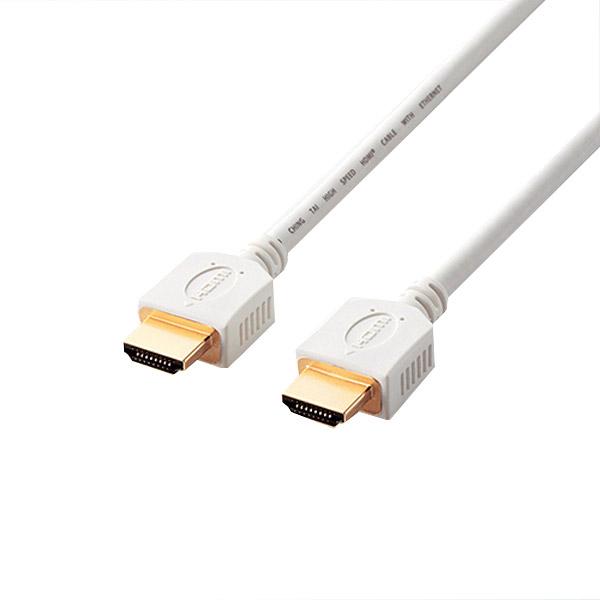 Cáp HDMI Elecom GM-DHHD14ER10WH 1m (Màu trắng)