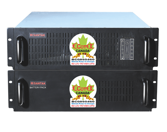 Bộ lưu điện Online Santak C6KR Rackmount (6 KVA / 4,2 KW)