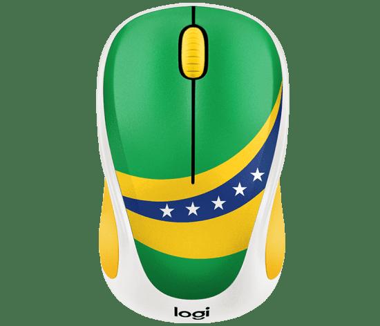 Chuột không dây Logitech M238 Brazil (910-005406)
