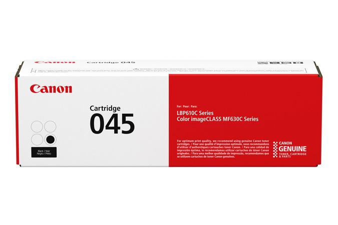 Mực máy in laser Canon 045BK - Dùng cho máy in Canon 631cn, 611cn, 635cx