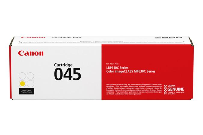 Mực máy in laser Canon 045Y - Dùng cho máy in Canon 631cn, 611cn, 635cx