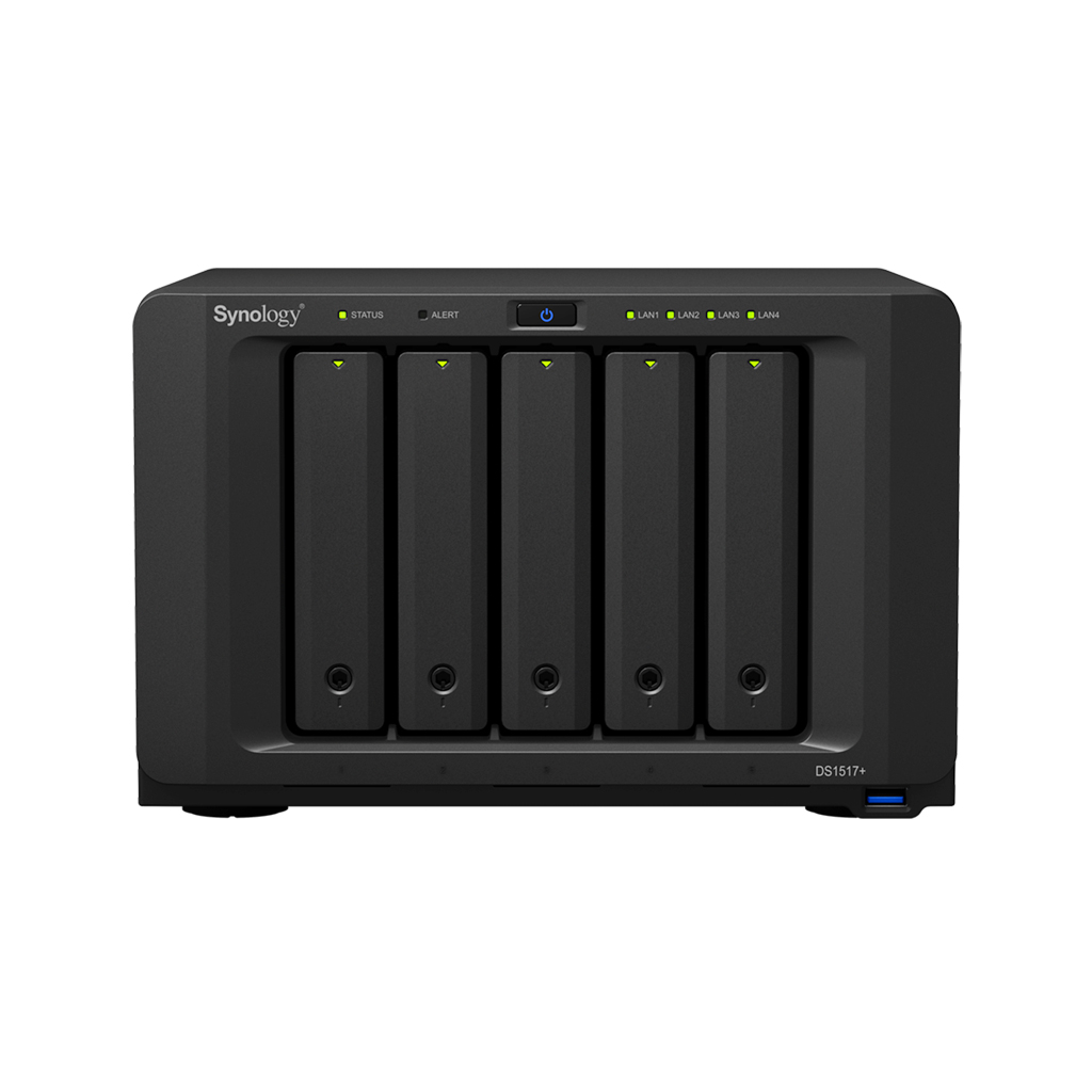 Ổ lưu trữ mạng Synology DS1517+ 2Gb (chưa có ổ cứng)