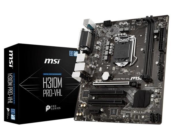 Main MSI H310M PRO-VHL (Chipset Intel H310/ Socket LGA1151/ VGA onboard)
