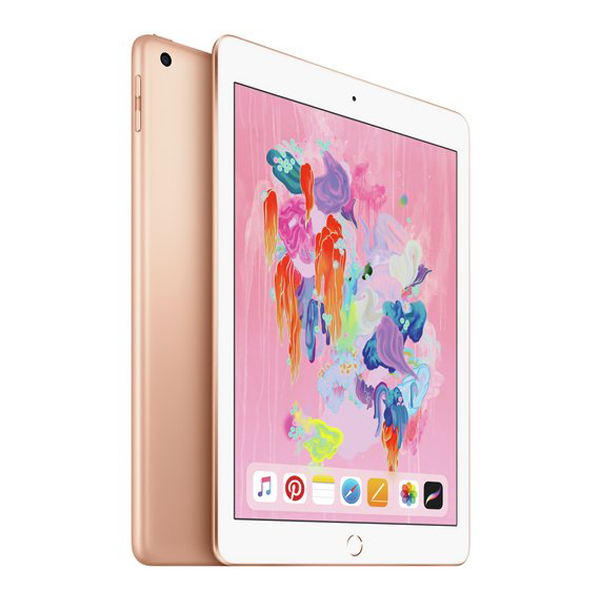 "Apple iPad 9.7"" (2018) Cellular 4G (Gold)- 128Gb/ 9.7Inch/ Cellular"