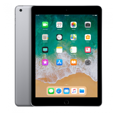 "Apple iPad 9.7"" (2018) Wifi (Gray)- 128Gb/ 9.7Inch/ Wifi"