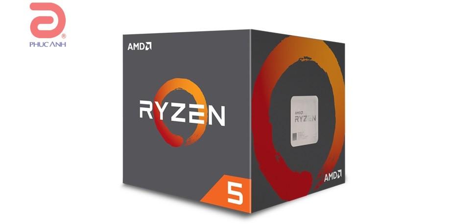 CPU AMD Ryzen 5 2600 (Up to 3.9Ghz/ 19Mb cache)