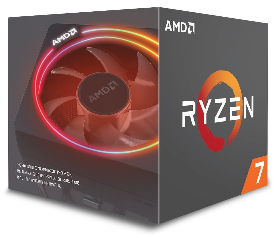 CPU AMD Ryzen 7 2700X (Up to 4.3Ghz/ 20Mb cache)
