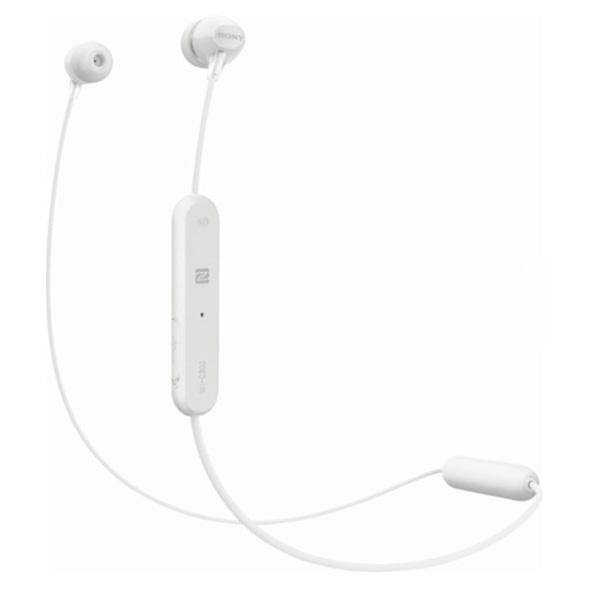 Tai nghe không dây nhét tai Sony WI-C300/W (Trắng)