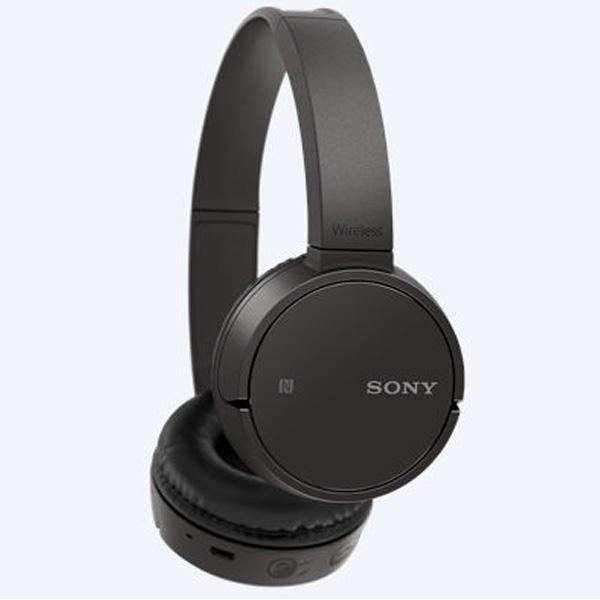 Tai nghe không dây choàng đầu Sony WH-CH500/B (Đen)