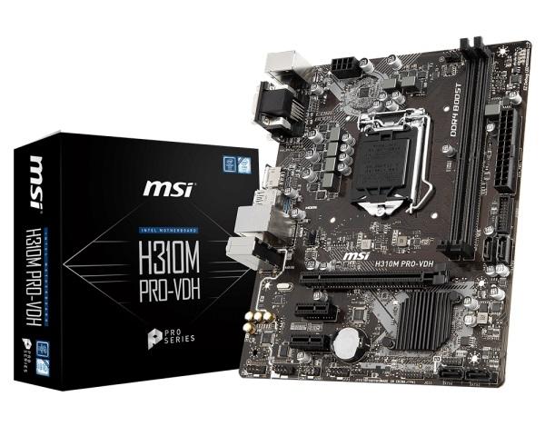 Main MSI H310M PRO-VDH (Chipset Intel H310/ Socket LGA1151/ VGA onboard)