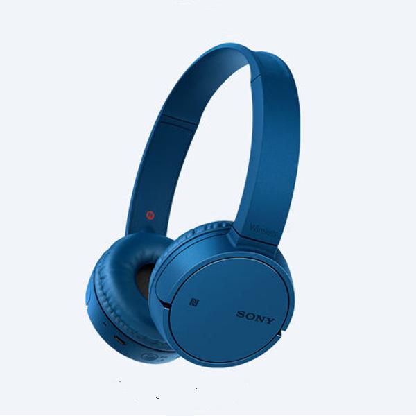 Tai nghe không dây choàng đầu Sony WH-CH500/L (Xanh Dương)