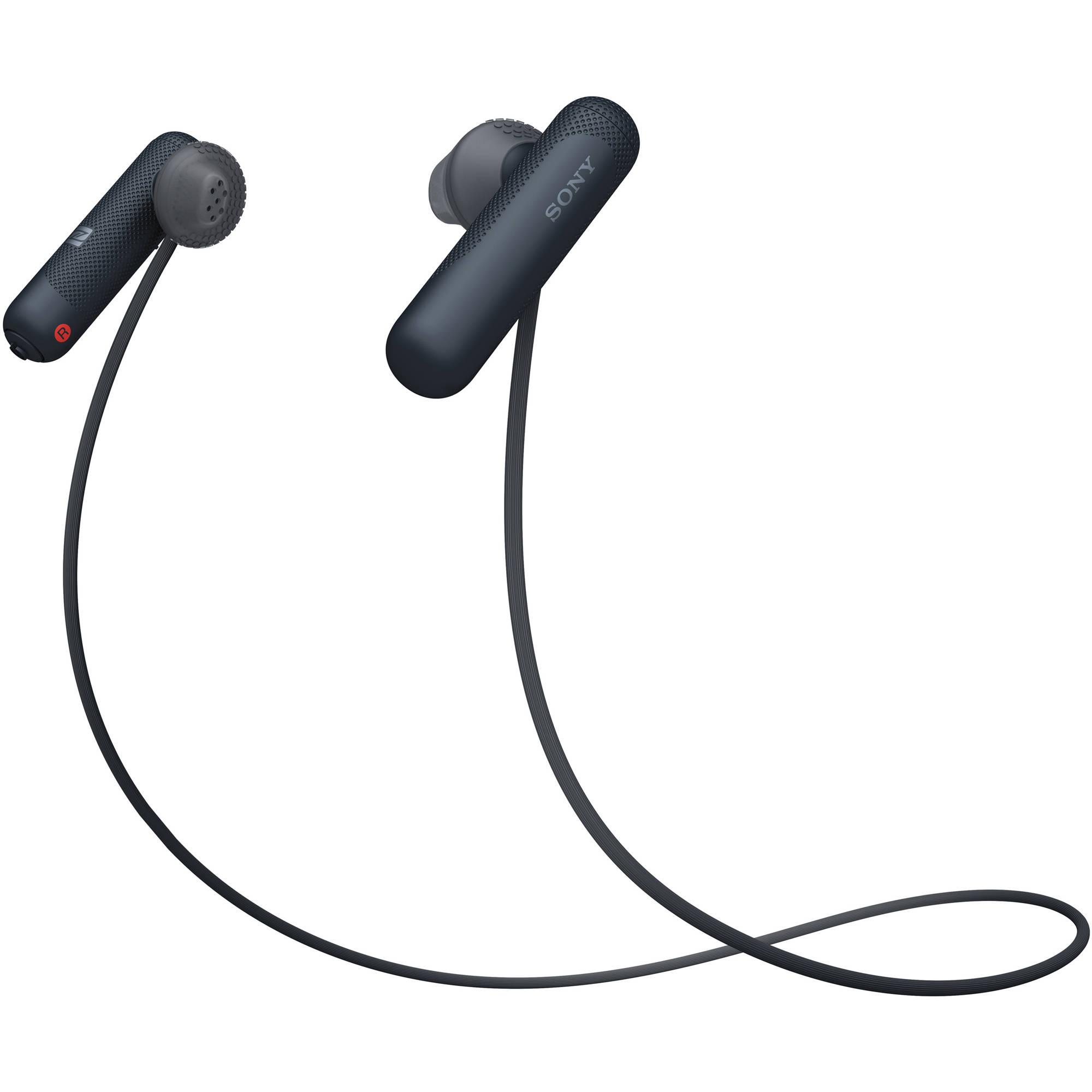 Tai nghe không dây nhét tai Sony WI-SP500/B (Đen)