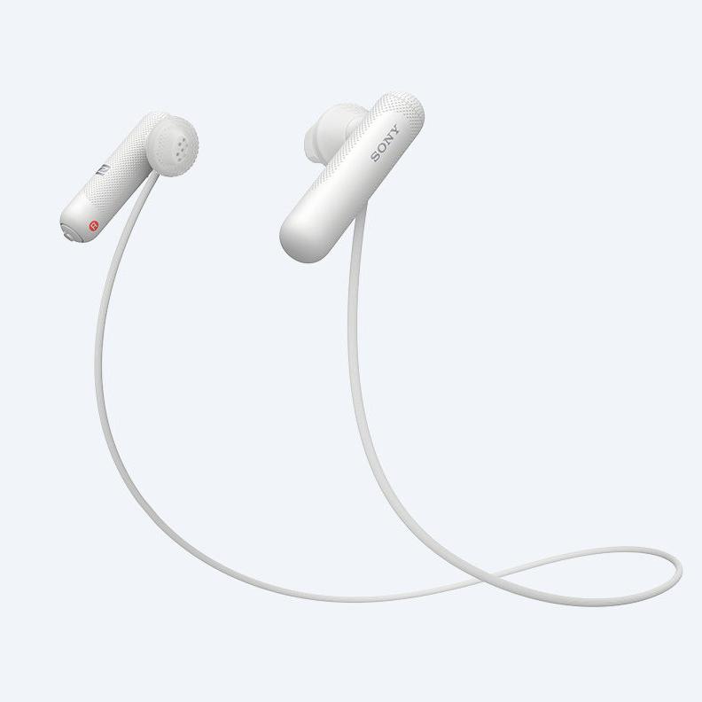 Tai nghe không dây nhét tai Sony WI-SP500/W (Trắng)