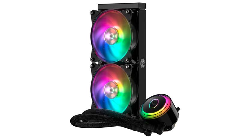 Tản nhiệt nước AIO Cooler Master MasterLiquid ML240R RGB (LX-D24M-A20PC-R1)