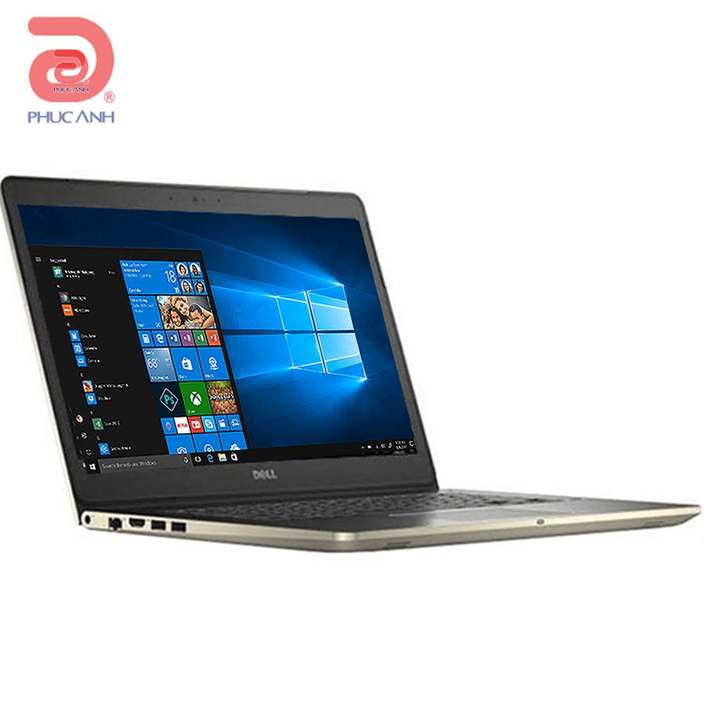 Laptop Dell Vostro 5468-VTI35009 (Gold)- vỏ nhôm, CPU kabylake thế hệ mới