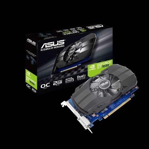 VGA Asus PH-GT1030-O2GD4 (NVIDIA Geforce/ 2Gb/ DDR4/ 64 Bits)