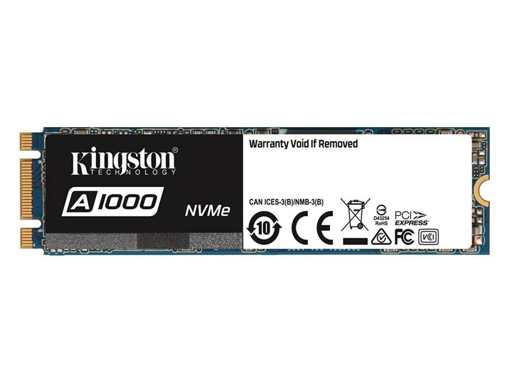 Ổ SSD Kingston SA1000M8 240Gb PCIe NVMe Gen3 M2.2280 (đọc: 1500MB/s /ghi: 800MB/s)