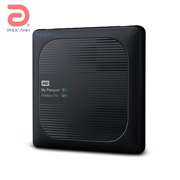 Ổ cứng di động Western Digital My PP Wireless Pro 4Tb USB3.0 - Đen