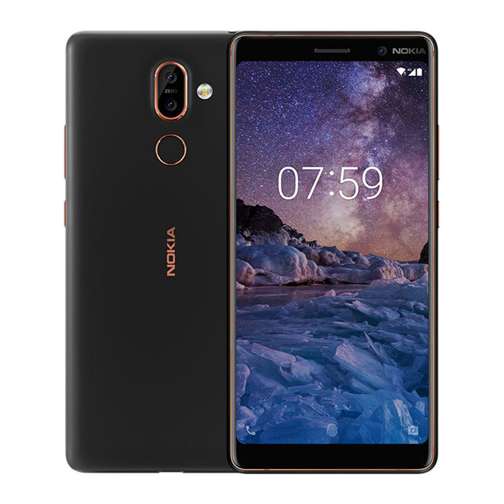 Nokia 7 Plus (Black)- 6.0Inch/ 64Gb/ 2 sim