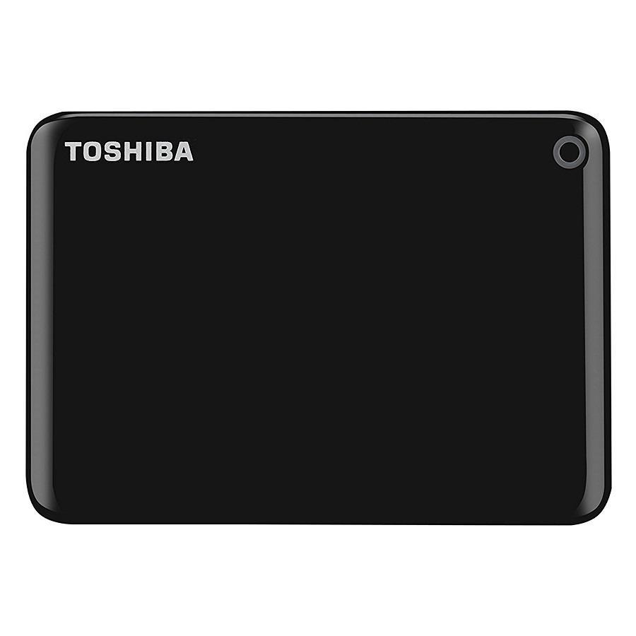 Ổ cứng di động Toshiba Canvio Connect Portable V9 2TB-Đen