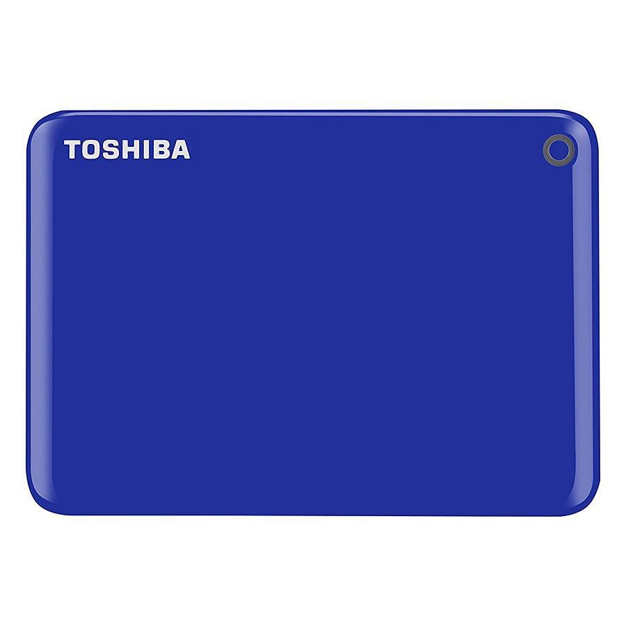 Ổ cứng di động Toshiba Canvio Connect Portable V9 2TB - Xanh