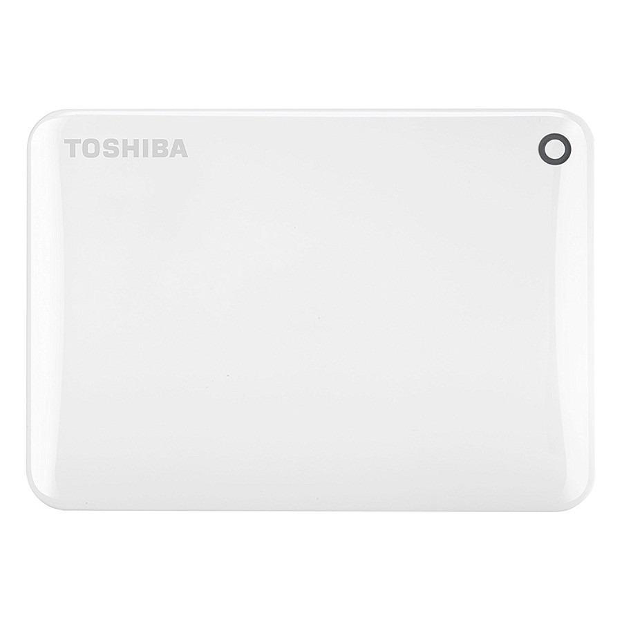 Ổ cứng di động Toshiba Canvio Connect Portable V9 2TB - Trắng