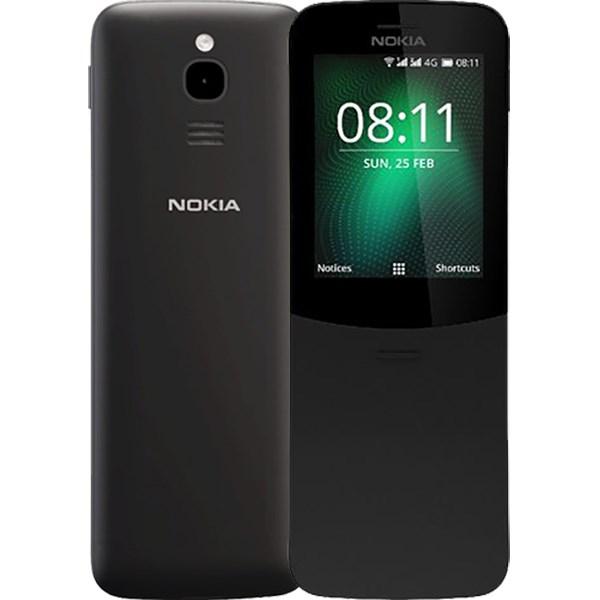 Nokia  8110 4G (Black)- 2.4Inch/ 2 sim