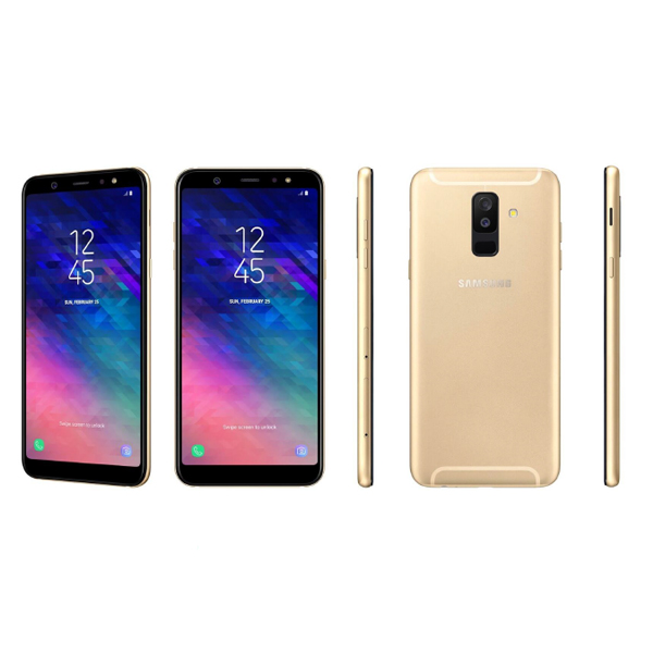 Samsung Galaxy A6+ (2018) (Gold)- 6.0Inch/ 32Gb/ 2 sim