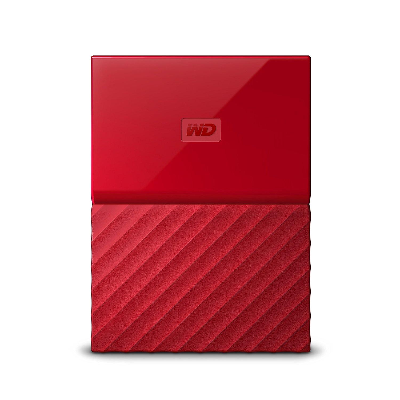 Ổ cứng di động Western Digital My Passport 2Tb USB3.0 - Đỏ