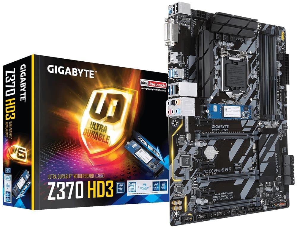 Main Gigabyte Z370-HD3-OP (Chipset Intel Z370/ Socket LGA1151/ VGA onboard)