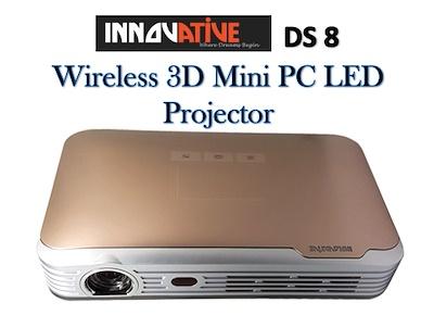 Máy chiếu Innovative DS 8 (Built-in 3D) - Wifi (42PJIDS8)