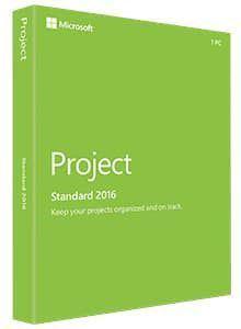 PM Microsoft Project Standard 2016 (Z9V-00342)