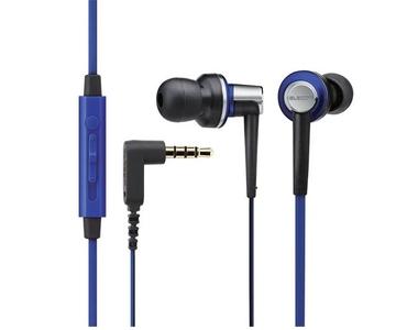 Tai nghe Elecom nhét tai có mic EHP-CS3560BU-G (Xanh)