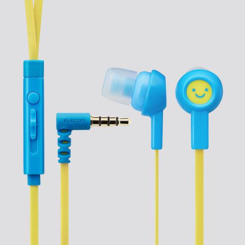 Tai nghe Elecom nhét tai có mic EHP-CS3520F1-G (Xám)