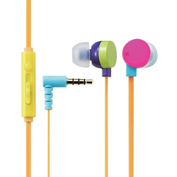 Tai nghe Elecom nhét tai có mic EHP-CS3550M1-G (Xanh)