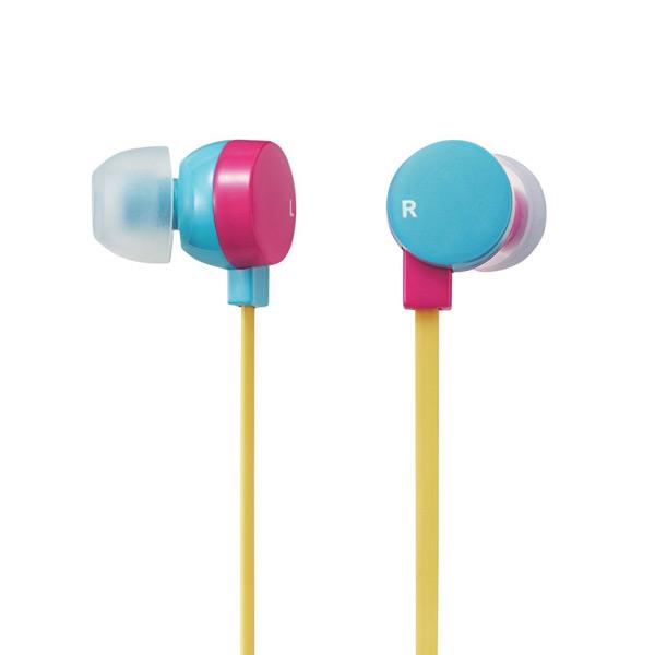 Tai nghe Elecom nhét tai có mic EHP-CS3550PBU-G (Hồng Xanh)